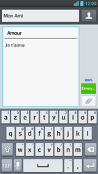 LG Optimus F6 - Contact, Appels, SMS/MMS - Envoyer un MMS - Étape 12