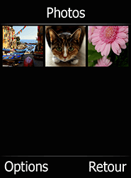 Doro 6520 - Photos, vidéos, musique - Envoyer une photo via Bluetooth - Étape 5