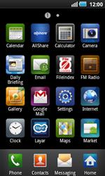 Samsung I5800 Galaxy Apollo - MMS - Manual configuration - Step 3