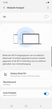 Samsung galaxy-note-10-plus-single-sim-sm-n975f - WiFi - Mobiele hotspot instellen - Stap 7