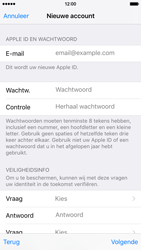Apple iPhone 6 (iOS 9) - apps - account instellen - stap 12