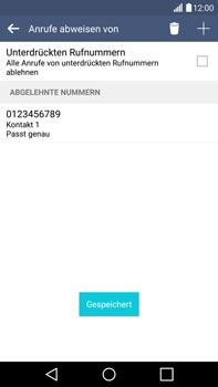 LG H815 G4 - Anrufe - Anrufe blockieren - Schritt 11
