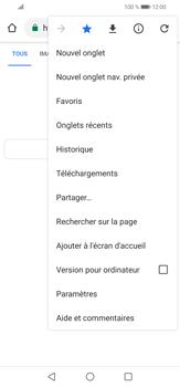 Huawei P30 lite - Internet et connexion - Naviguer sur internet - Étape 12