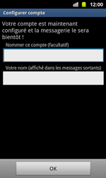 Samsung I8160 Galaxy Ace II - E-mail - Configuration manuelle - Étape 15