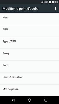 Acer Liquid Zest 4G Plus - Internet - Configuration manuelle - Étape 12