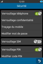 Samsung Wave M - Sécuriser votre mobile - Activer le code de verrouillage - Étape 8