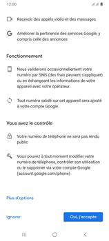 Samsung Galaxy A31 - Applications - Créer un compte - Étape 14