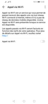 Huawei P30 Lite - WiFi - Activez WiFi Calling - Étape 7