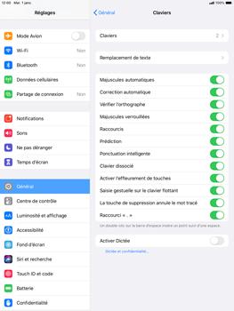 Apple iPad Air (2019) - iPadOS 13 - Prise en main - Comment ajouter une langue de clavier - Étape 5