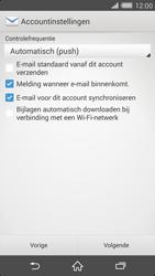 Sony D6503 Xperia Z2 - E-mail - Account instellen (IMAP zonder SMTP-verificatie) - Stap 16