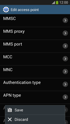 Samsung SM-G3815 Galaxy Express 2 - Internet and data roaming - Manual configuration - Step 16