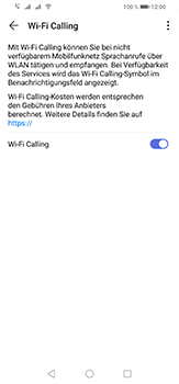Huawei P30 Lite - WiFi - WiFi Calling aktivieren - Schritt 9