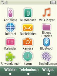 Samsung F480-TouchWiz - E-Mail - Konto einrichten - Schritt 3