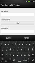 HTC One - E-Mail - Konto einrichten - Schritt 11