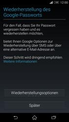 Sony D6603 Xperia Z3 - Apps - Konto anlegen und einrichten - Schritt 13