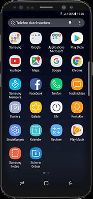 Samsung Galaxy Note 8 - WiFi - WiFi Calling aktivieren - Schritt 2