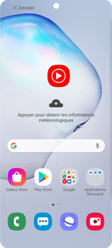 Samsung Galaxy Note 10 Lite - Applications - Personnaliser l
