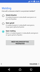 Sony Xperia X Compact (F5321) - E-mail - Account instellen (POP3 zonder SMTP-verificatie) - Stap 21