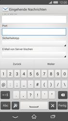 Sony Xperia Z2 - E-Mail - Konto einrichten - 0 / 0