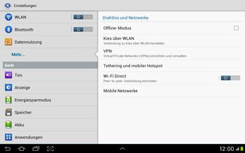 Samsung Galaxy Tab 2 10.1 - Internet und Datenroaming - Deaktivieren von Datenroaming - Schritt 5