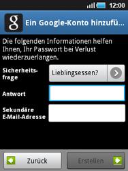 Samsung Galaxy Mini - Apps - Konto anlegen und einrichten - 1 / 1