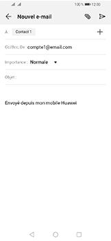 Huawei Y6 (2019) - E-mails - Envoyer un e-mail - Étape 7