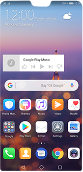 Huawei P20 Pro - Getting started - Installing widgets and applications on your start screen - Step 10
