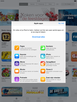 Apple iPad Air (Retina) met iOS 7 - Applicaties - Account aanmaken - Stap 3