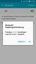 Samsung Galaxy S5 Neo - Bluetooth - Geräte koppeln - 0 / 0