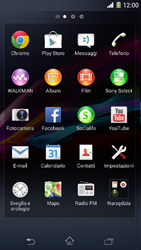 Sony Xperia Z1 Compact - Internet e roaming dati - Come verificare se la connessione dati è abilitata - Fase 3