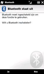 HTC T8585 HD II - bluetooth - aanzetten - stap 6