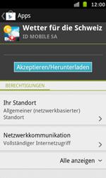 Samsung Galaxy S Advance - Apps - Installieren von Apps - Schritt 15