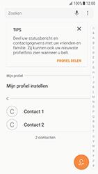 Samsung Galaxy S7 - Android N - Contacten en data - Contacten overzetten via Bluetooth - Stap 4