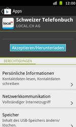 Samsung Galaxy S Advance - Apps - Installieren von Apps - Schritt 8