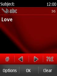 Nokia Asha 300 - MMS - Sending pictures - Step 12