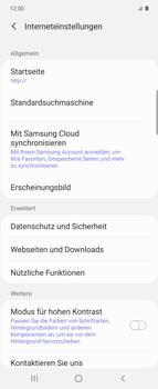 Samsung Galaxy Z flip - Internet und Datenroaming - Manuelle Konfiguration - Schritt 25