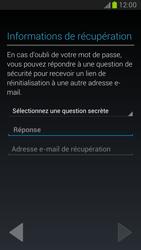 Samsung Galaxy Note 2 - Premiers pas - Créer un compte - Étape 17