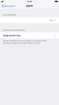 Apple iPhone 8 Plus - iOS 12 - E-mail - Account instellen (POP3 zonder SMTP-verificatie) - Stap 17