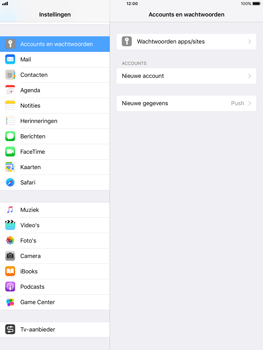 Apple iPad Pro 9.7 - iOS 11 - E-mail - e-mail instellen (yahoo) - Stap 4