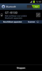 Samsung I9100 Galaxy S II met OS 4 ICS - bluetooth - aanzetten - stap 7