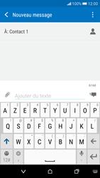 HTC Desire 626 - Contact, Appels, SMS/MMS - Envoyer un MMS - Étape 9