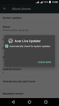 Acer Liquid Zest 4G Plus DualSim - Device - Software update - Step 7