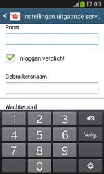 Samsung S7275 Galaxy Ace III - E-mail - handmatig instellen - Stap 14