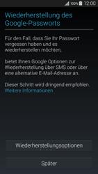 Samsung Galaxy A3 - Apps - Konto anlegen und einrichten - 12 / 22