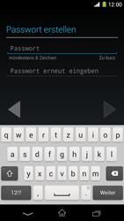 Sony Xperia Z1 - Apps - Konto anlegen und einrichten - Schritt 10