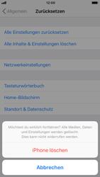 Apple iPhone 8 - iOS 12 - Fehlerbehebung - Handy zurücksetzen - Schritt 9