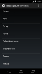Motorola Moto G - internet - handmatig instellen - stap 9