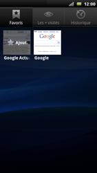 Sony Xperia Arc - Internet - Navigation sur Internet - Étape 7