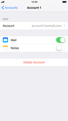 Apple iPhone 8 - iOS 12 - E-mail - Manual configuration IMAP without SMTP verification - Step 28
