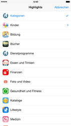 Apple iPhone 6 Plus iOS 8 - Apps - Herunterladen - Schritt 5